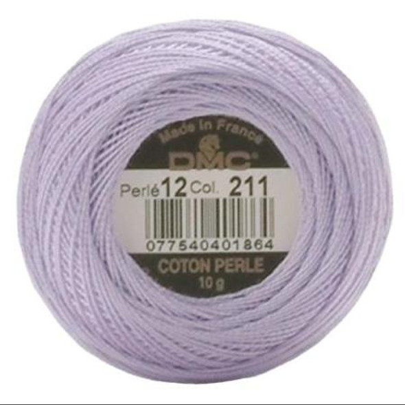 DMC 211 Lt Lavender Size 12 Perle Cotton Ball