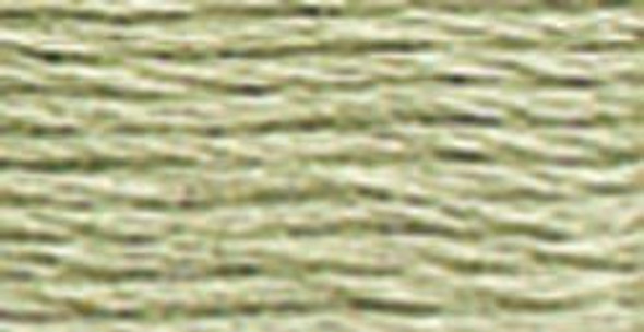 DMC 524 V Lt Fern Green Size 12 Perle Cotton Ball EmbroideryThread