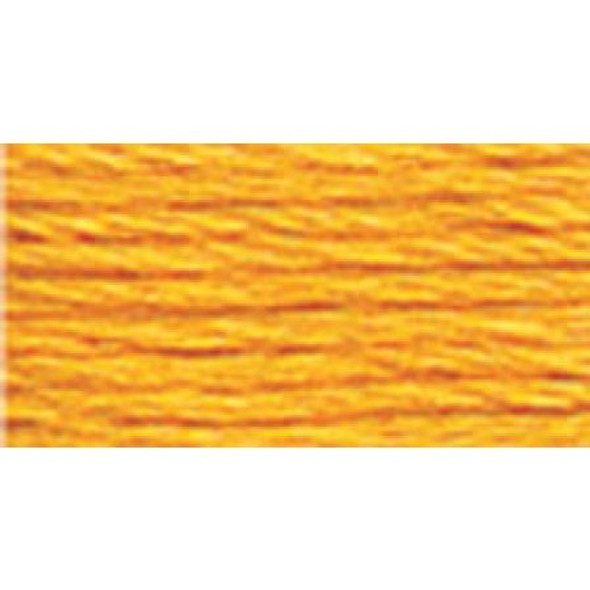 DMC Pearl, Perle Cotton Thread Ball | Size 5 | 742 Lt Tangerine
