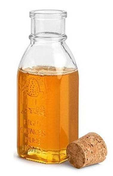 8 oz Muth Style Honey Bottle with Cork