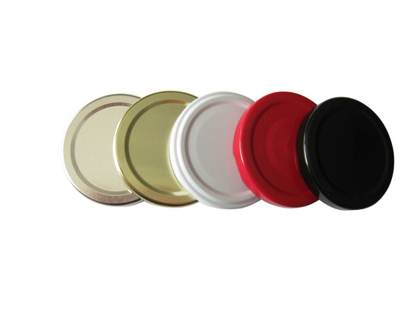 Nakpunar 63TW twist off, screw, canning lids cap replacement, plastisol lined, bpa free