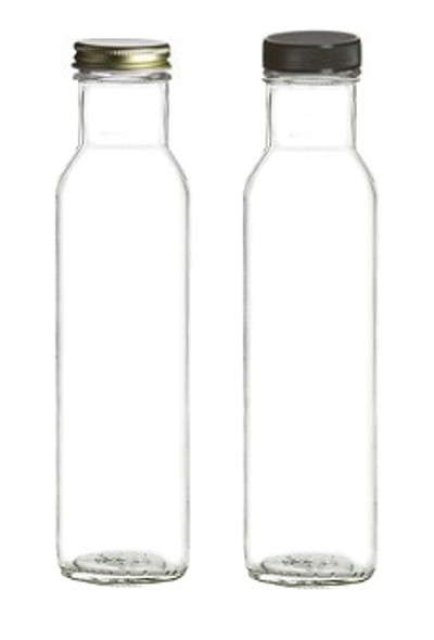 Nakpunar 8 oz 250 ml empty glass bottles