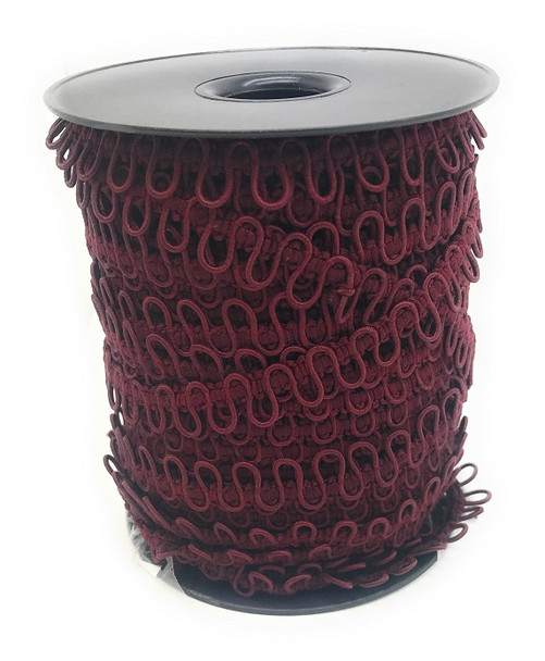 Burgundy Bridal Elastic Loops