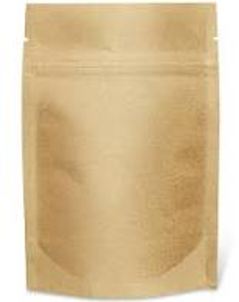 Kraft Airtight Stand-Up Barrier Pouches - heavy duty
