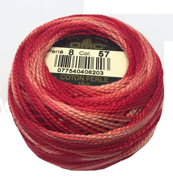 DMC Size 8 Perle Cotton Thread | 57 Variegated Archives