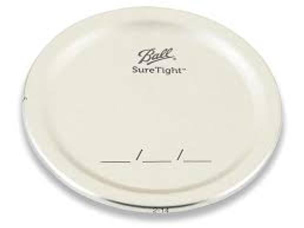 12 pcs Ball Regular Mouth Jar Lids - Discs only 70/450