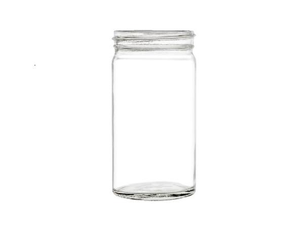 14 oz Mason Jar with Silver Aluminum Cap