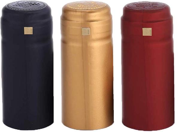 Nakpunar PVC heat shrink capsules wine shrink wrap bottle corks capsules for professional, wine cellars, restaurants, bars, homemade liquors, hot sauces