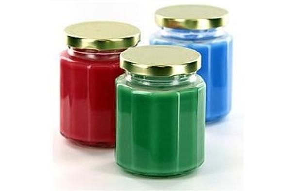 Value Pack - 48 pcs 6 oz Beveled Glass Jar with Lid (190 ml)