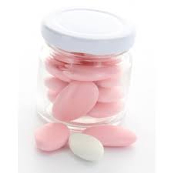 1.25 oz glass jar with candy