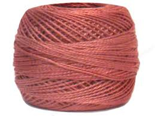 DMC 223 Lt Shell Pink Size 12 Perle Cotton Embroidery Thread Ball