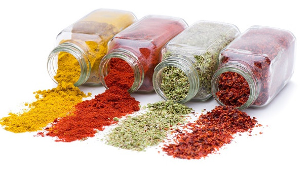 Nakpunar Glass Spice Jars - Square with Shaker Fitment
