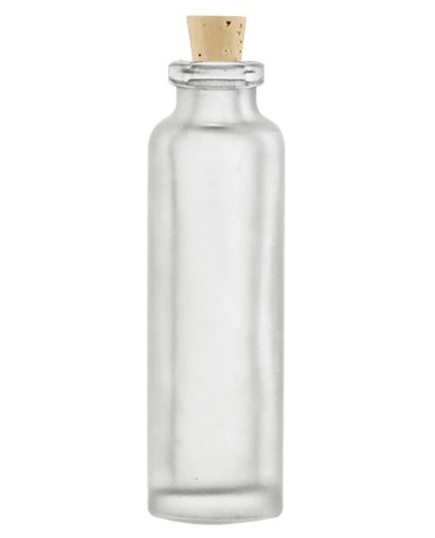 Nakpunar 15 ml frosted vial with size 1 cork