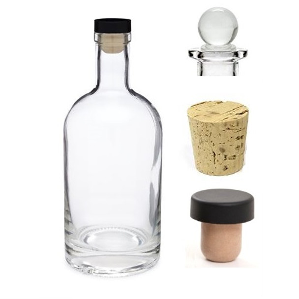 18.5 mm Smooth Bar Top Cork - Synthetic T-Bar Bottle Stopper