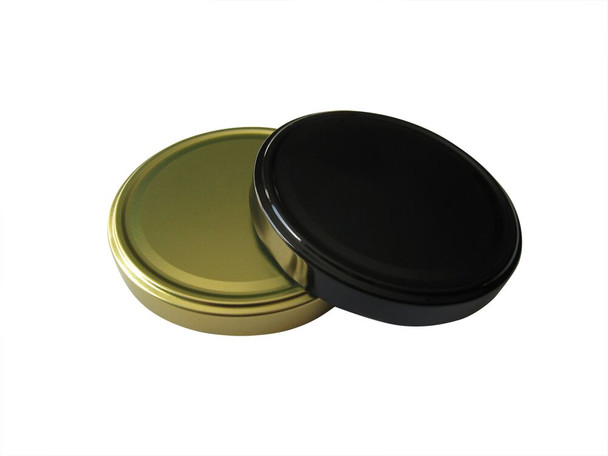 110TW metal lids with plastisol liner for glass jars