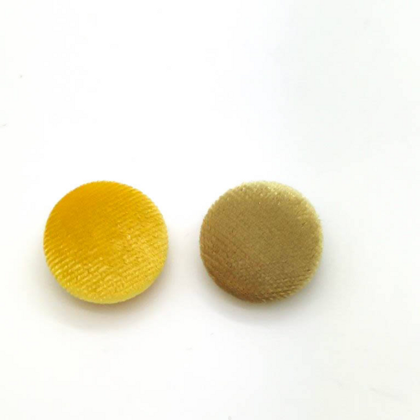 These Shades of  Yellow Velvet Shanks buttons are made with nice soft velvet fabric. Other sizes are available in my store. Great for your bridal gown and accessories. Mix & Match available for different kind colors and sizes.  Custom orders are always welcome! I can cover the buttons with your fabric too!