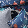 Quilted Spanish Floral Super King Quilt Cover Set by Florence Broadhurst