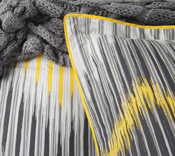 Logan & Mason Havana Charcoal Single Quilt Cover Set