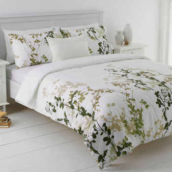 Mia Green Quilt Cover Set