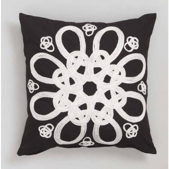 Inka Black Cushion from Logan & Mason