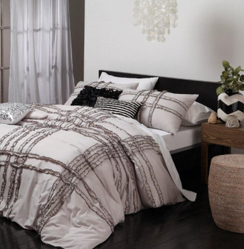 Darcy Linen Quilt Cover Set