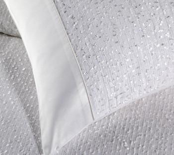 Peyton White Quilt Cover Set