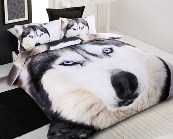 Husky Wolf Standard Size Pillowcase