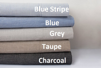 Bambury Chambray 50cm Deep Wall King Size Sheet Set