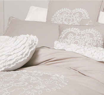 Sweethearts Linen Quilt Cover Set