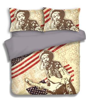 Jimi Hendrix Quilt Cover Set