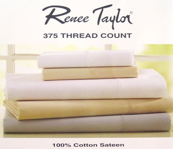 Single Bed Sheet Set Clay Beige 375TC Cotton