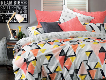 Bianca Hadley King Quilt Cover Set - 3 Pce