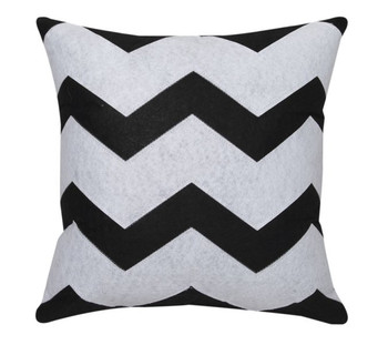 Logan & Mason Zeke Cushion - Black
