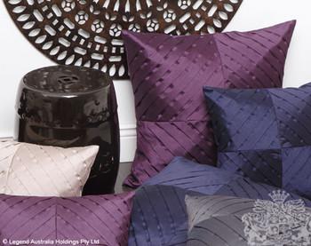 Logan & Mason Kaleidoscope Cushion - Purple