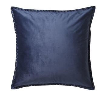 Preston Cadet Blue European Pillowcase by Private Collection