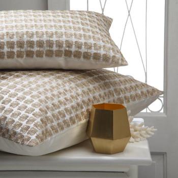 Lulu Gold European Pillowcase by Davinci