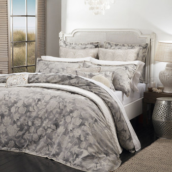 Davinci Windemere Silver Quilt Cover Set