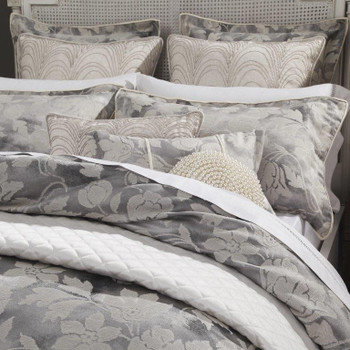 Davinci Windemere Silver Quilt Cover Set 2