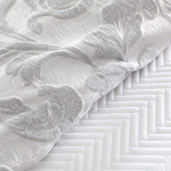 Private Collection Serenade Silver Quilt Cover Set 2