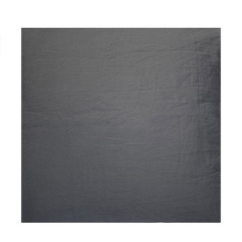 Bambury French Flax Charcoal King Bed Sheet Set 2