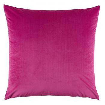 Vivid Velvet Fuchsia Pink European Pillowcase