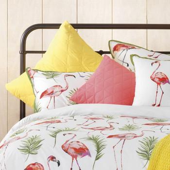 Bianca Flamingo Quilt Cover Set 2
