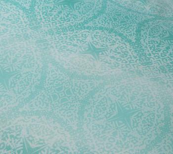 Byron Aqua Single Quilt Cover Set by Logan & Mason