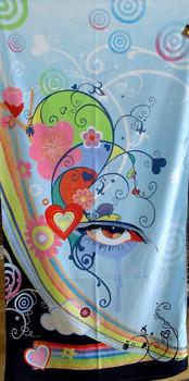 Reilly Eye Urban Art Towel
