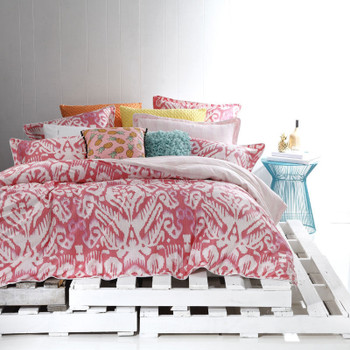 Logan & Mason Java Watermelon Quilt Cover Set