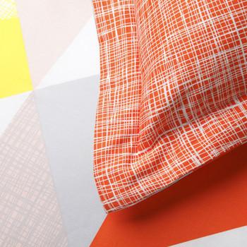 Lloyd Orange King Quilt Cover Set by Logan & Mason