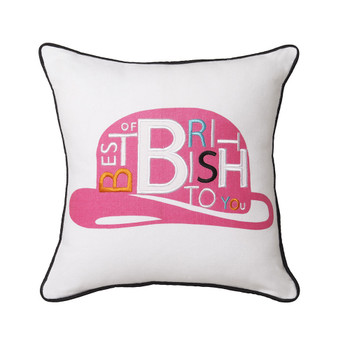 Royal Doulton Harrods Pink Cushion
