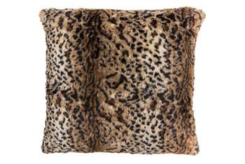 Bambury Leopard Faux Fur Cushion