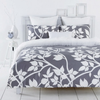 Madison Silver Quilt Cover Set
