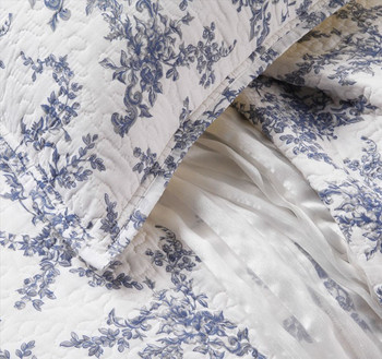 Private Collection Amalie China Blue Quilt Cover Set